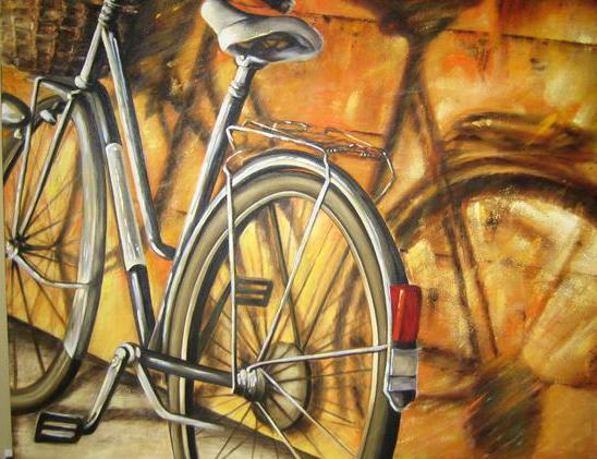 bicicletas ao sol